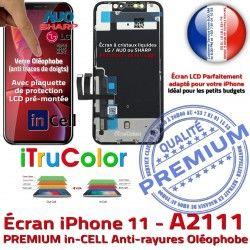 3D Retina SmartPhone Écran Touch inCELL 6,1 Liquides Apple A2111 HDR Oléophobe LCD in PREMIUM Cristaux InCELL Ecran iPhone Vitre Remplacement Super
