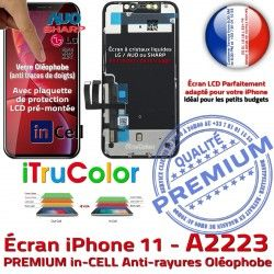 LCD Verre Retina in-CELL PREMIUM Tone SmartPhone iPhone Affichage Apple Réparation A2223 Multi-Touch inCELL True HD Écran Tactile