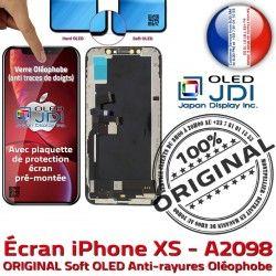 Écran Retina Châssis Assemblé XS Apple soft Complet Vitre 5,8 Super SmartPhone Affichage sur OLED pouces ORIGINAL A2098 iPhone