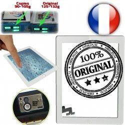 Frontale Touch Ultraviolet Monté Oléophobe Tactile Verre A1396 Blanc iPad Adhésif Home A1397 A1395 Apple Vitre ORIGINAL Fixation Caméra iPad2 OB Qualité 2 Multi
