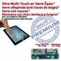 PACK iPad4 A1458 A1459 A1460 N iPad Qualité HOME PREMIUM Vitre Precollé 4 Noire Démontage Réparation Tablette Verre Oléophobe Bouton Tactile Outils KIT Adhésif