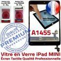 iPad Mini1 A1455 Noir Caméra Verre Filtre Tactile Réparation Monté Home Adhésif Vitre Nappe Tablette Bouton Ecran Fixation Oléophobe