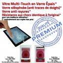 iPad Mini2 A1489 Noir Home Monté Tactile Tablette Bouton Vitre Nappe Caméra Verre Ecran Réparation Adhésif Oléophobe Fixation Filtre