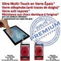 Mini3 iPad A1599 A1600 Noir Réparation Monté Nappe Fixation Oléophobe Adhésif Ecran Home 3 Tablette Vitre Tactile Bouton Caméra Filtre MINI Verre