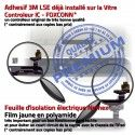 Mini3 iPad A1601 Blanc Adhésif Oléophobe Bouton Tablette Tactile Fixation Home Monté Vitre Nappe Filtre Ecran Caméra Verre Réparation
