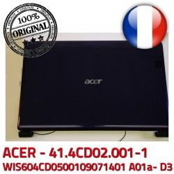 Case Mitsubishi Coque WIS604CD0500109071401 WIS: 7235 41.4CD02.001-1 A01a- ACER Rear D3 Cover MS2262 Acer 41.4CD02.XXX 7535 ASPIRE 7535G