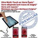 iPad Mini3 A1601 Noir PREMIUM Caméra Vitre Tactile Filtre Nappe Fixation Verre Tablette Bouton Réparation Oléophobe Adhésif Ecran