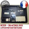 ACER Back Cover LXPCE0Y0019301987A2000 WIS604CD1000209070801 Bezel Coque Case Acer Bottom ORIGINAL 39.4CD02.XXX ASPIRE Frame Arrière