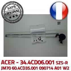 A01 Laptop écran 60.4CD35.001 W2 Fixations PC ORIGINAL Portable Charnière JM70 ACER LCD Acer Right Montant ASPIRE Droite Hinge 090714