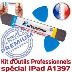 Qualité KIT Remplacement Tactile Ecran PRO iLAME Outils Compatible Vitre A1397 Démontage iPad iSesamo Réparation Professionnelle