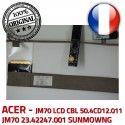 ACER Video Cable LCD JM70 Nappe 23.42247.001 50.4CD12.011 VA-05 CN0314-SN30-OV03-5 B1928309309C ORIGINAL SUNMOWNG CBL Microphone