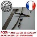 ACER Video Cable VA-05 JM70 CBL LCD CN0314-SN30-OV03-5 B1928309309C Microphone 50.4CD12.011 Nappe ORIGINAL SUNMOWNG 23.42247.001