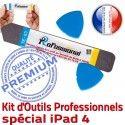 iPad4 iLAME A1458 A1459 A1460 iSesamo Compatible Démontage Outils PRO Tactile Remplacement 4 iPad Qualité KIT Réparation Professionnelle Ecran Vitre
