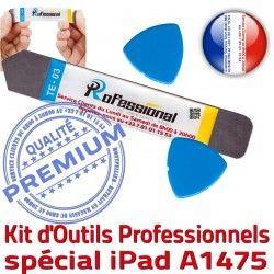 iLAME Réparation iSesamo KIT A1475 Vitre Ecran Professionnelle Tactile Outils Compatible iPad iPadAIR Remplacement Démontage PRO Qualité
