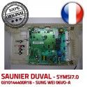 Saunier Duval SYMSI7.0 KWD electronique 10024 C24 Thema d'allumage 3 0310144400R18 Carte 6973 0020036711 E IND V S0080 08/48
