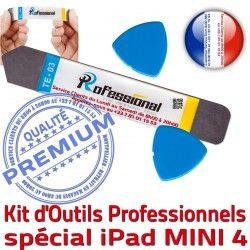 iLAME iSesamo Ecran Remplacement PRO Compatible Qualité A1550 A1538 Démontage Outils 4 iPadMini Tactile Réparation KIT Vitre Professionnelle Mini4 iPad