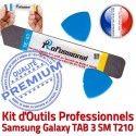 T210 iLAME Samsung Galaxy 3 iSesamo Vitre Ecran Tactile KIT Démontage TAB Qualité Compatible Remplacement SM Outils Professionnelle Réparation