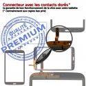 Samsung Galaxy SM-T310 TAB3 N Coller 8 Ecran PREMIUM pouces Noire Assemblée Supérieure Verre Prémonté Qualité Tactile à Vitre en
