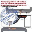 Samsung Galaxy GT-P3200 Tab3 B Tactile PREMIUM Assemblée LCD TAB3 P3200 Qualité Adhésif Prémonté Ecran Blanche Verre Supérieure en Vitre GT 7