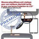 Samsung Galaxy TAB 3 SM-T211 N Supérieure Ecran TAB3 en Adhésif LCD Prémonté Noire Qualité Vitre T211 Verre PREMIUM Tactile SM Assemblée 7