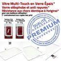 TAB2 GT P3100 Blanc LCD PREMIUM 7 Galaxy Supérieure Ecran Blanche inch Prémonté Vitre Adhésif Tactile Verre GT-P3100 Samsung Assemblée Qualité
