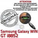 Samsung Galaxy Win GT-i8852 USB Dock charge Prise Chargeur Pins MicroUSB Connector ORIGINAL Fiche Qualité de SLOT à souder Dorés