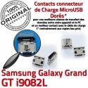Samsung Galaxy i9082L USB de ORIGINAL souder Qualité Pins Prise Connector à Dorés GT Connecteur Grand charge Micro Dock Chargeur