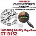 Samsung Galaxy i9152 USB Pins Qualité ORIGINAL Duos Micro Dorés Prise charge GT Chargeur Mega à Connector souder de Connecteur