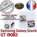 Samsung Galaxy i9082 USB Micro ORIGINAL souder Connector Pins à Dock Chargeur Dorés GT charge Grand Prise Qualité Connecteur de