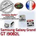 Samsung Galaxy GT-i9082L USB souder Pins charge Chargeur Dorés ORIGINAL Fiche de Dock Grand Prise Connector SLOT Qualité à MicroUSB