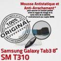 SM-T310 Micro USB TAB3 Charge Qualité Dorés Connecteur ORIGINAL Réparation OFFICIELLE T310 MicroUSB TAB de Galaxy Samsung Chargeur 3 Contacts SM Nappe