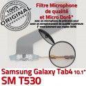 Samsung Galaxy SM-T530 TAB4 Ch Connecteur Dorés SM MicroUSB ORIGINAL Réparation Nappe de Chargeur Qualité OFFICIELLE T530 TAB 4 Charge Contacts