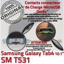 Samsung Galaxy TAB 4 SM-T531 Ch Dorés Contacts Qualité TAB4 MicroUSB OFFICIELLE Nappe Charge Réparation de Connecteur ORIGINAL Chargeur