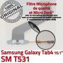 Samsung Galaxy TAB 4 SM-T531 Ch Chargeur OFFICIELLE Charge Nappe Contacts de Qualité TAB4 Dorés Réparation Connecteur MicroUSB ORIGINAL