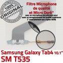 Samsung Galaxy TAB 4 SM-T535 Ch ORIGINAL de Chargeur Qualité Connecteur TAB4 Contacts Dorés Réparation OFFICIELLE Charge MicroUSB Nappe