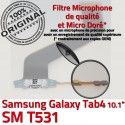 SM-T531 Micro USB TAB4 Charge Galaxy MicroUSB Connecteur Samsung T531 SM Réparation Nappe OFFICIELLE Chargeur 4 ORIGINAL Dorés Contacts TAB Qualité de