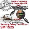 Samsung Galaxy SM-T525 C TAB PRO Chargeur Qualité T525 OFFICIELLE ORIGINAL Réparation Connecteur de Charge Nappe Contact MicroUSB SM Doré