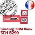 Samsung CDMA Bronx SCH B299 C de Pins Dock à USB Flex charge Prise ORIGINAL Connector souder Chargeur Connecteur Dorés Portable Micro