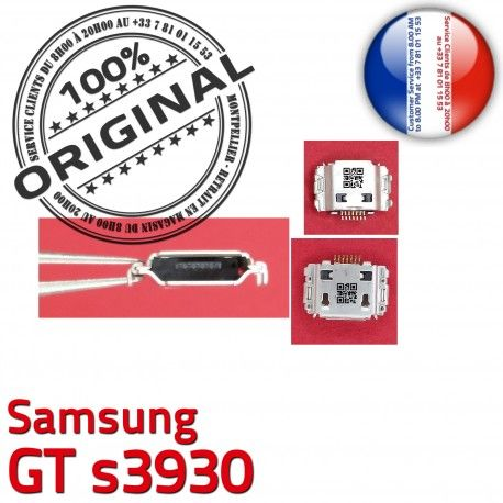 Samsung GT s3930 C Prise de Dock USB à Dorés Connecteur Chargeur souder Flex Micro Connector ORIGINAL charge Portable Pins