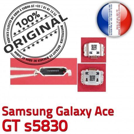 Samsung Galaxy Ace GT s5830 C charge Dorés ORIGINAL Flex Pins Micro USB à souder Connector Prise de Connecteur Chargeur Dock
