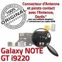 Samsung Galaxy NOTE GT i9220 C Antenne OFFICIELLE Chargeur Charge Connecteur MicroUSB Microphone RESEAU Prise Qualité ORIGINAL Nappe