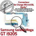 Samsung Galaxy MEGA GT i9205 C ORIGINAL Chargeur Antenne Qualité Nappe Prise OFFICIELLE MicroUSB Microphone Connecteur RESEAU Charge