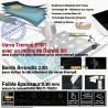 Verre Trempé Apple iPad A1601 UV Anti-Chocs Vitre Oléophobe ESR Anti-Rayures Filtre Ecran Protection Lumière Bleue Multi-Touch