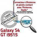 Samsung Galaxy S4 GT i9515 C Antenne RESEAU Qualité MicroUSB Prise Charge Microphone OFFICIELLE ORIGINAL Connecteur Nappe Chargeur