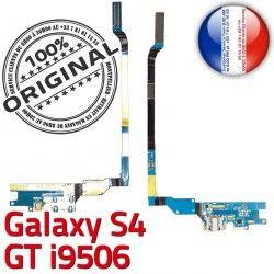 Prise Connecteur S4 Chargeur OFFICIELLE Nappe Charge i9506 MicroUSB LTEAC ORIGINAL Galaxy RESEAU GT Antenne Microphone Samsung Qualité