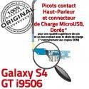 Samsung Galaxy S4 GT i9506 LTEAC Microphone Prise OFFICIELLE MicroUSB ORIGINAL Nappe Antenne Chargeur Qualité Connecteur RESEAU Charge