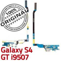 OFFICIELLE C Galaxy Charge Prise Samsung Chargeur Nappe i9507 GT S4 MicroUSB ORIGINAL Microphone Qualité Antenne Connecteur RESEAU