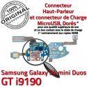 Samsung S4 Min GTi9190 C Galaxy MicroUSB GT Antenne Microphone Chargeur Prise RESEAU Connecteur Nappe OFFICIELLE ORIGINAL 9190 Qualité Charge