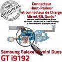 Samsung Galaxy S4 Duo GTi9192 C Chargeur Nappe Duos GT Microphone Connecteur 4 Qualité ORIGINAL OFFICIELLE RESEAU S Charge MicroUSB i9192 Prise