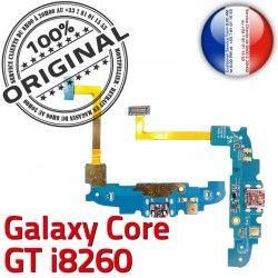 Antenne ORIGINAL Core Samsung Connecteur MicroUSB RESEAU Charge GT Prise Qualité Microphone i8260 Nappe Chargeur C Galaxy OFFICIELLE